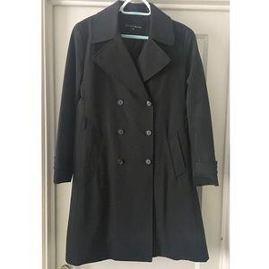 Jenne Maag Black Trench Coat